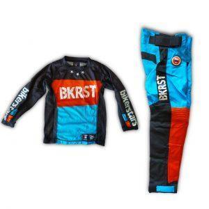 set pantalon y jersey niño moto