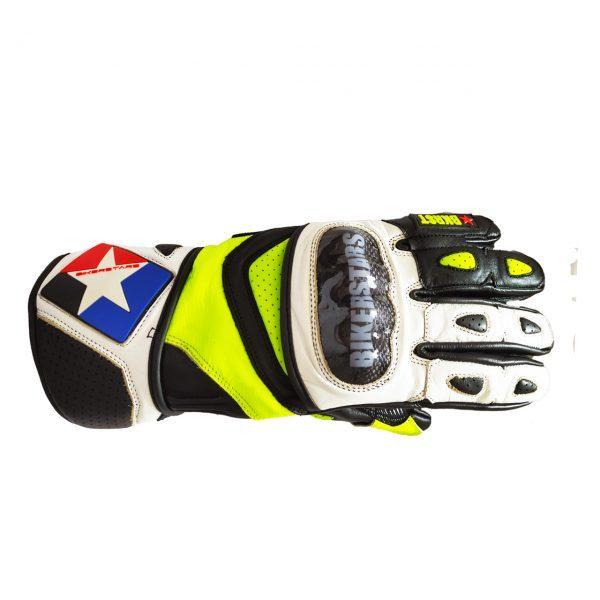 guantes neon fluor con carbono