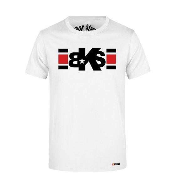 camiseta con lineas estampadas