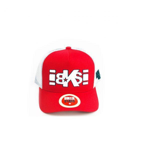 gorra roija bordado3d