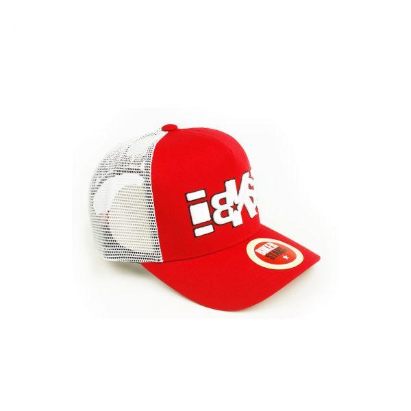 gorra malla curva bordado