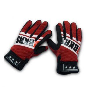 guantes para niños color rojo
