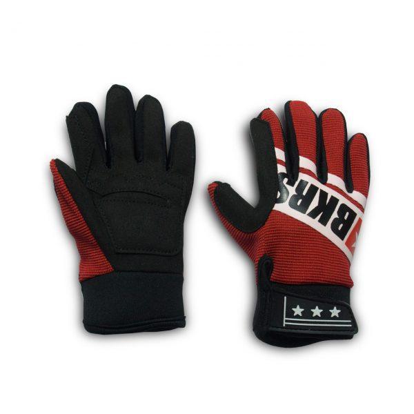 guantes cara superior e inferior