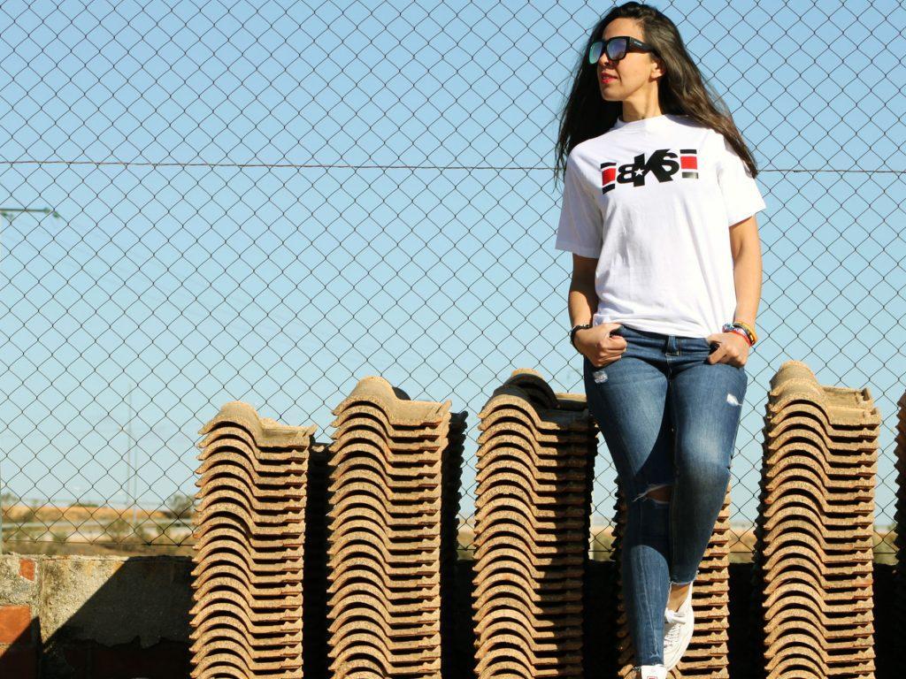 Camiseta Lines unisex algodon